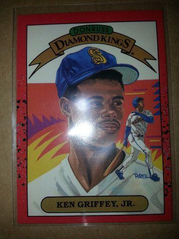 1989 Donruss Diamond Kings Ken Griffey Jr. #4