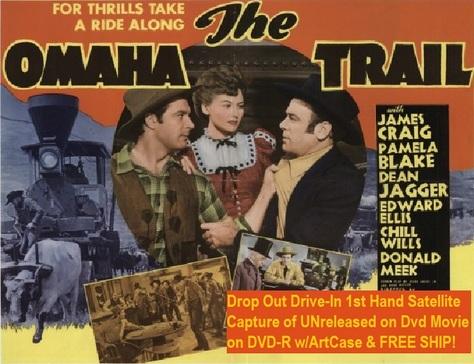 """The Omaha Trail"" (1942(DVD-R)"