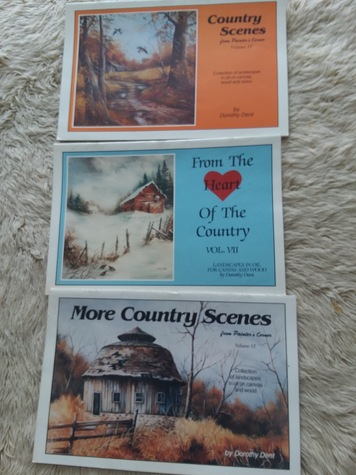 Lot of 3 Dorothy Dent Toll Painting Books