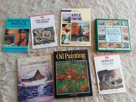 7 Art educational Books