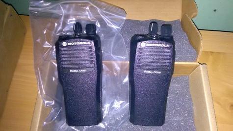 Motorola CP200 16 channel