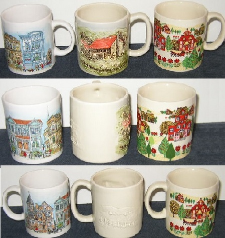Otagiri Christmas Mugs & More