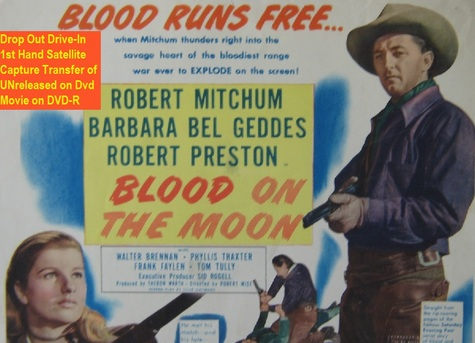 """""""Blood on the Moon"""" (1948)(DVD-R)"""