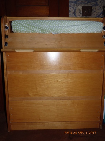 chest of drawers changing table