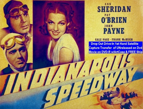 """Indianapolis Speedway"" (1939)(DVD-R)"
