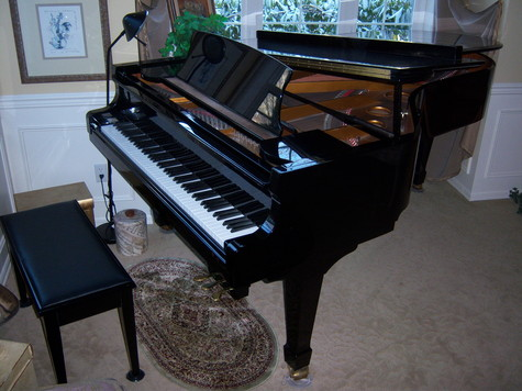 SAMICK SG225 GRAND PIANO