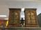 2 Antique Mehrab Doors Side Chest, Nightstands, Vintage