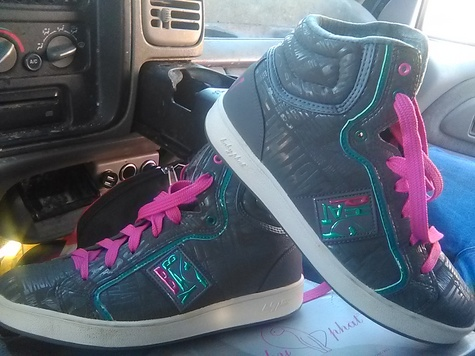 size 10 bramd new babyphatt shoes