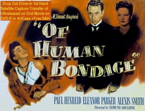 """Of Human Bondage"" (1946)(DVD-R)"