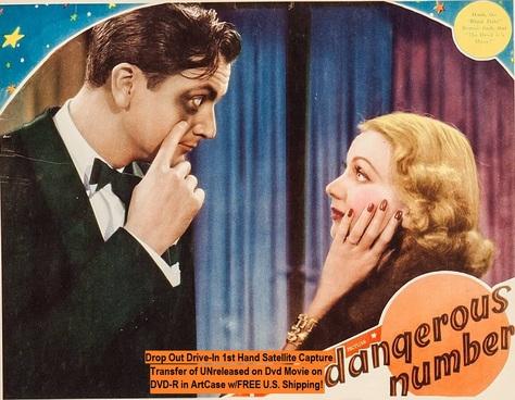 """Dangerous Number"" (1937)(DVD-R)"