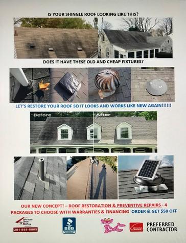 Roof Restoration & Preventive Repairs