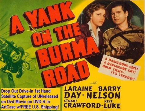 """A Yank on the Burma Road"" (1942)(DVD-R)"