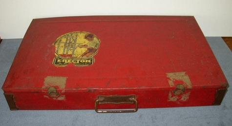 Nearly Complete, Vintage, Erector Set, No. 8-1/2