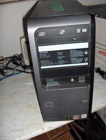 Compaq Presario SR5110NX tower PC