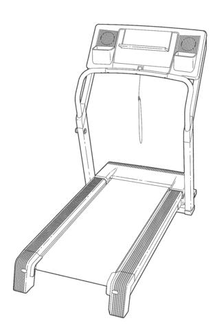 Nordic Track A2050 Treadmill