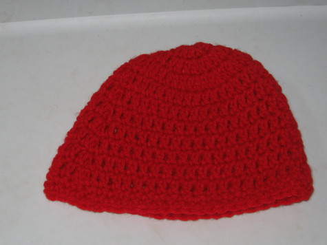 Baby Hat 3 Red