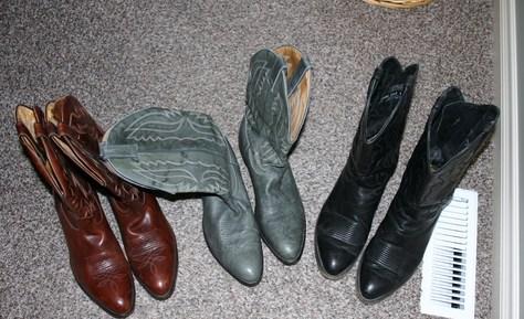 Boulet Cowboy Boots Size 10.5EE