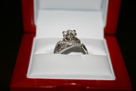 1.35 Carat Diamond Engagement Ring