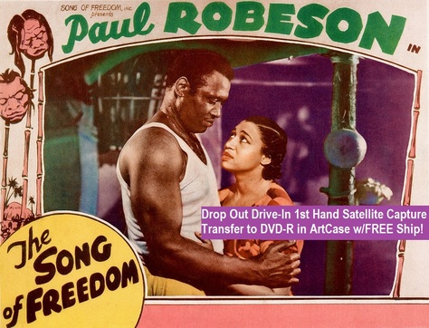 """""""Song of Freedom"""" (1936)(DVD-R)"""