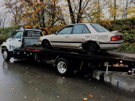 Scrap Car Removal for Vancouver