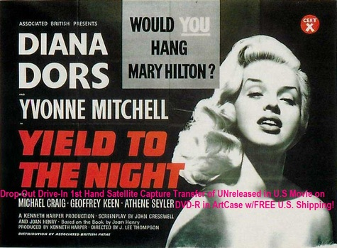 """Yield to the Night"" (1956)(DVD-R)"