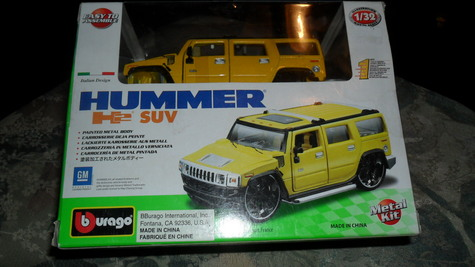 HUMMER He SUV--model kit----only $ 25