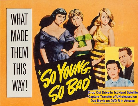 """So Young, So Bad"" (1950)(DVD-R)"