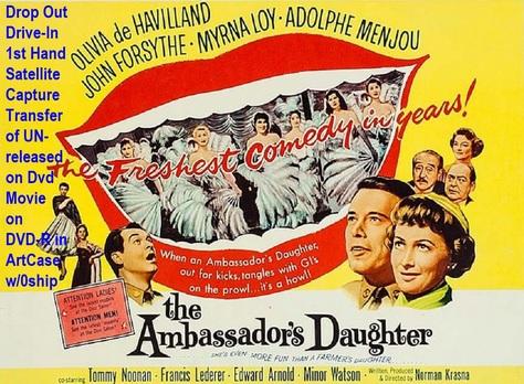 """The Ambassador's Daughter"" (1956)(DVD-R)"