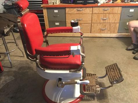 1905 Koken All Original Barber Chair