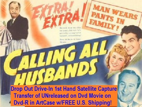 """Calling All Husbands"" (1940)(DVD-R)"