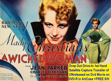 """A Wicked Woman"" (1934)(DVD-R)"