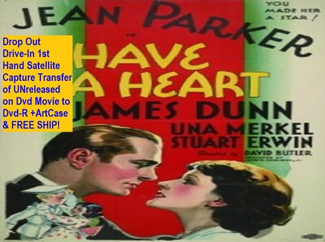 """Have a Heart"" (1934)(DVD-R)"