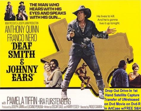 """""""Deaf Smith & Johnny Ears"""" (1973)(DVD-R)"""