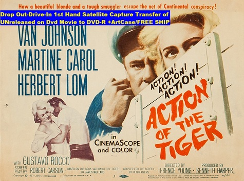 """Action of the Tiger"" (1957)(DVD-R)"