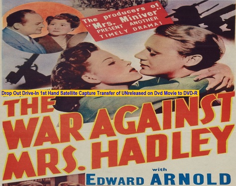 """The War Against Mrs. Hadley"" (1942)(DVD-R)"