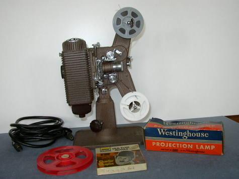 Antique -- Revere 8mm Silent Projector