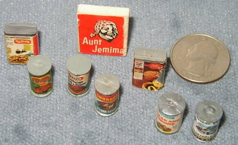 Collection of Canned & Boxed & Hand-Made Foods