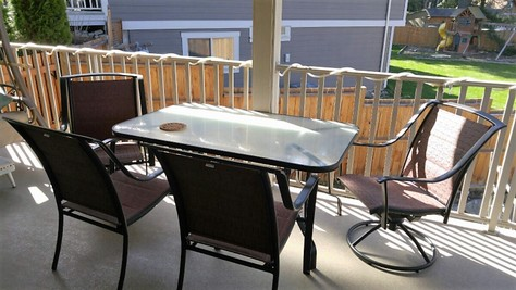 PATIO TABLE & CHAIR SET