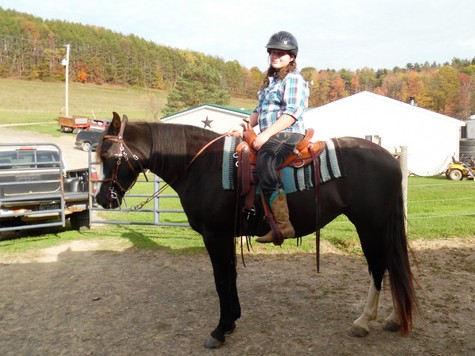 Emily And Riding Lessons With Zoie