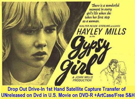 """""""Gypsy Girl"""" (1966)(DVD-R)"""
