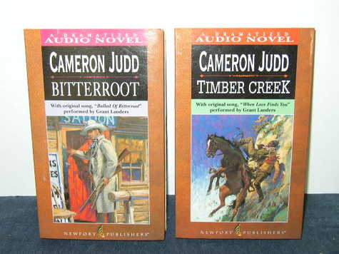 Audio Books - Item #1 & #2 - Cameron Judd