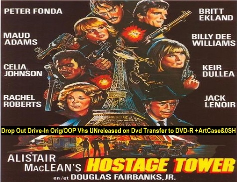 """The Hostage Tower"" (1988)(DVD-R)"