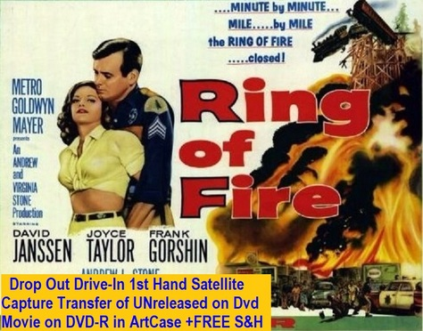 """Ring of Fire"" (1961(DVD-R)"