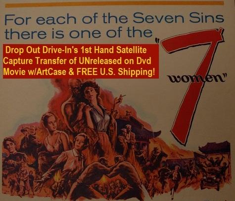 """7 Women"" (1966){DVD-R}"