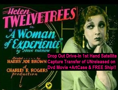 """""""A Woman of Experience"""" (1931){DVD-R}"""