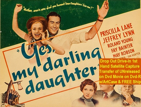 """Yes, My Darling Daughter"" {DVD-R}"