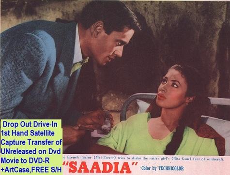 """""""Saadia"""" (1953){DVD-R}"""