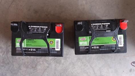 12 volt bateries