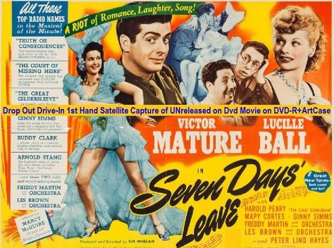 Seven Days' Leave (1942){DVD-R}