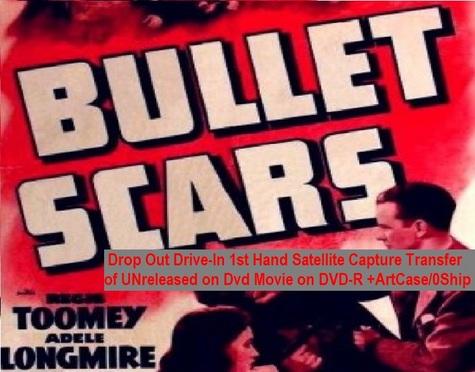 """Bullet Scars"" (1942){DVD-R}"